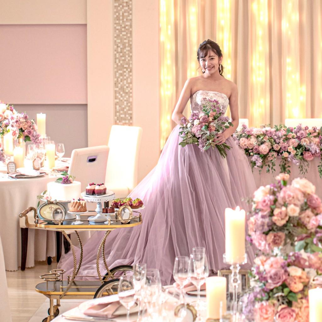 【人気No.1】《関西最大級ドレス点数☆》1日1組限定!夢の空間Princessフェア